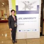 at SmarTransnational Cooperation event on 20 Nov. in Bucharest, Romania