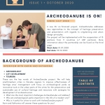 ArcheoDanube eNewsletter (Issue 1) available