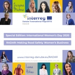 RADAR: Making road safety women's business – International Women's Day 2021