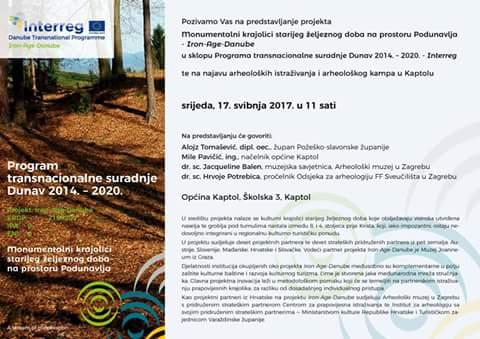 Iron-Age-Danube Project Presentation Kaptol