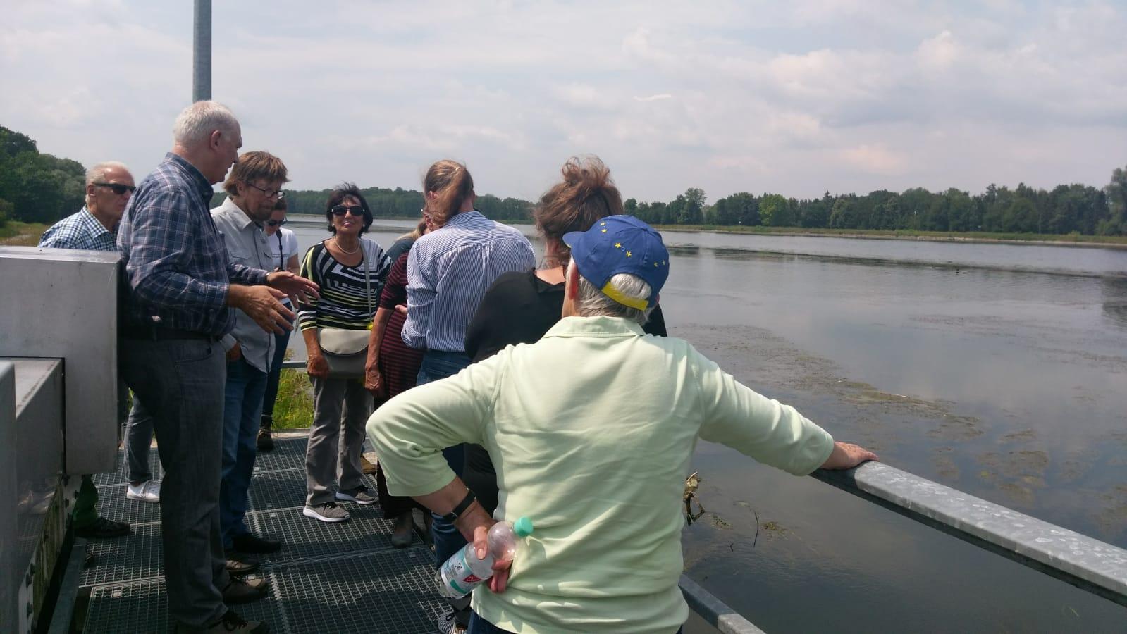 Danube floodplain excursion (Copyright: Hanna Skiba, LfU)