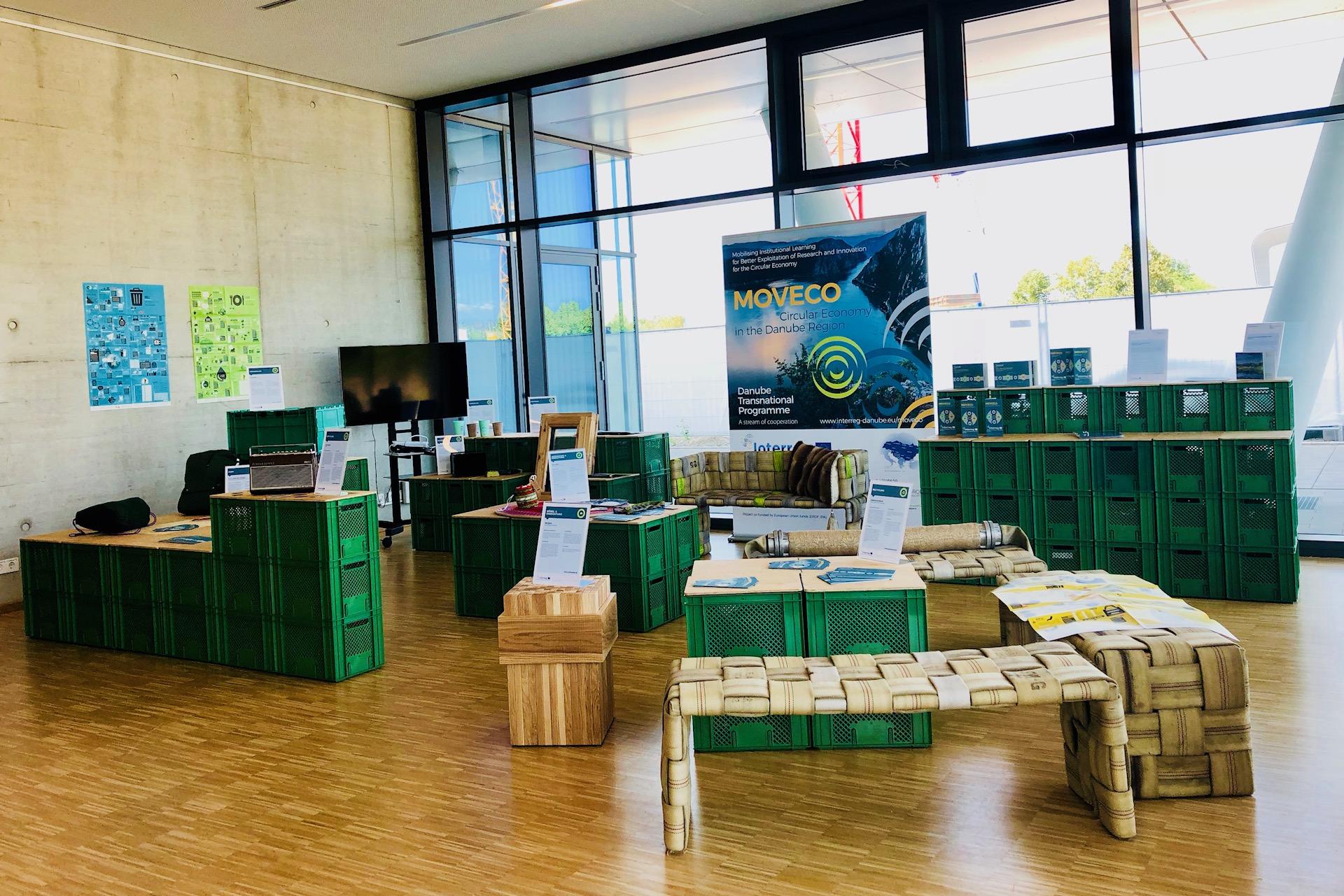 """MOVECO mobile exhibition """"The circular economy in the Danube region"""""""